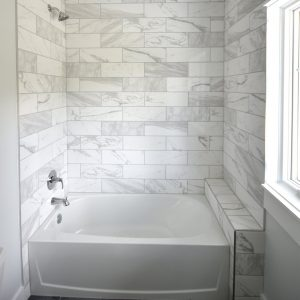 Bathroom tile and marble