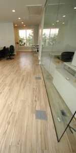 Office Plank Flooring - Commercial