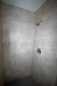Clara White Tile Showers