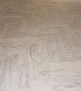 Springmoor Six Wood Plank Tile Floor